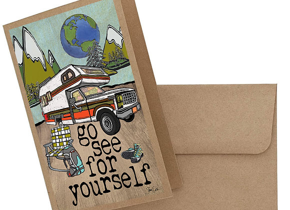 Go See For Yourself Card