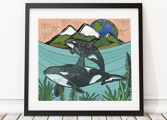 Orcas & Bees