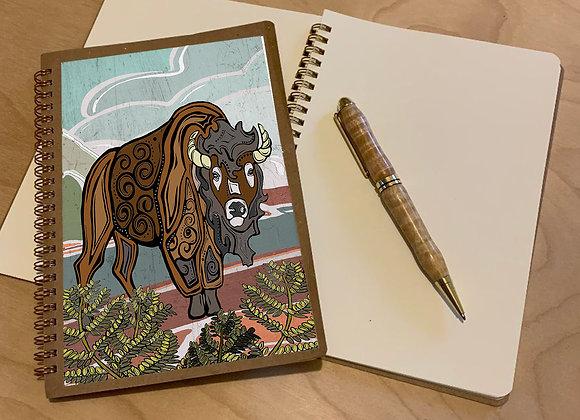Bison Spiral Journal
