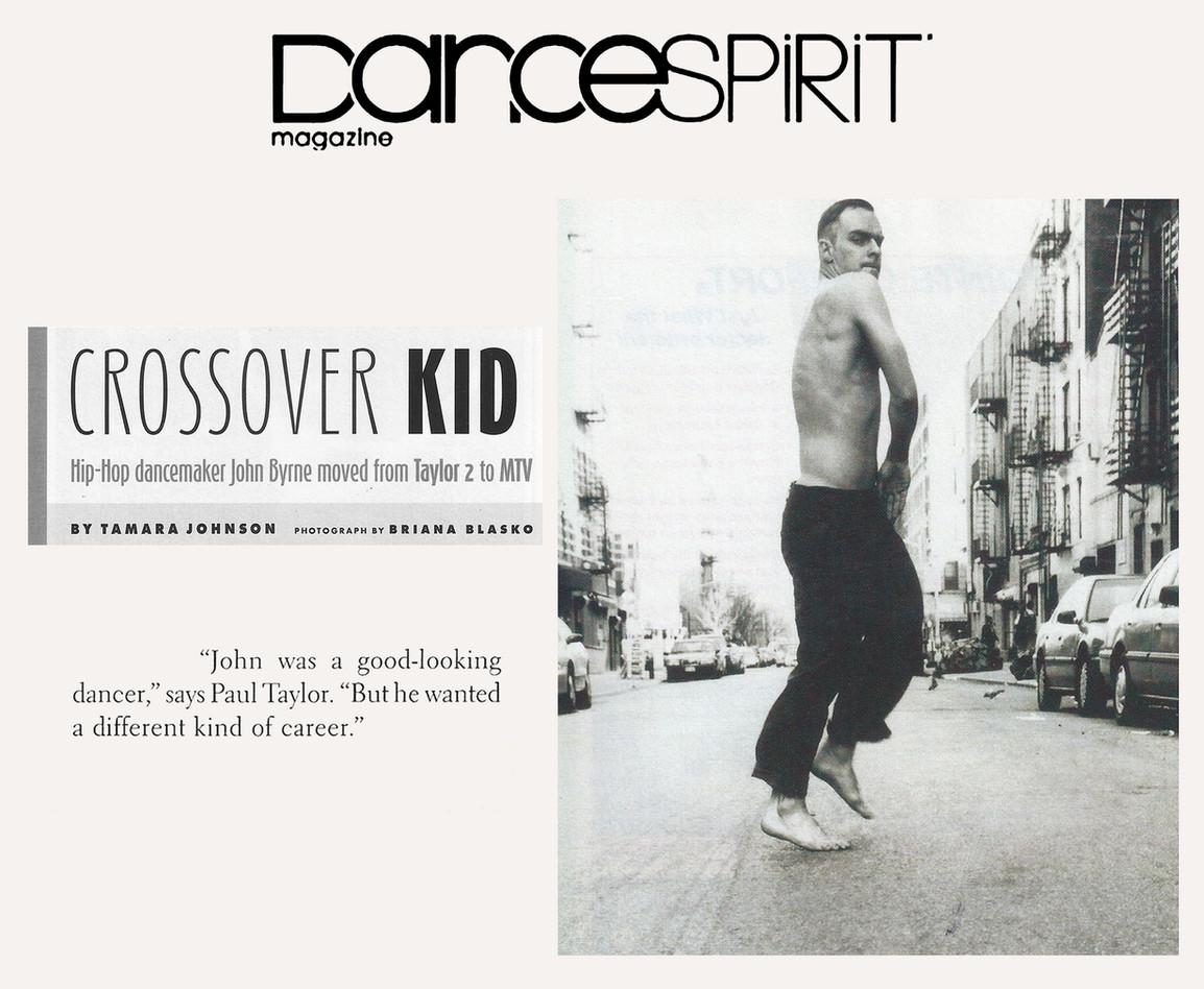 Dance Spirit Article