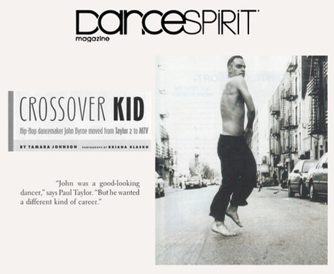 Dance Spirit Article