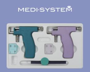 Aparelho Perfur Medy-System para perfurar os lóbulos das orelhas