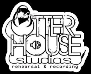 Otter House Studios Die Cut Sticker