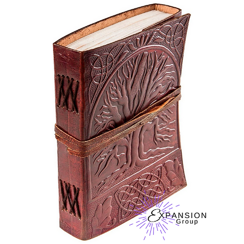 Leather Journal Tree of Life - 120 pgs