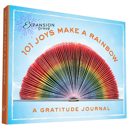101 Joys Make a Rainbow: A Gratitude Journal - 208 pgs