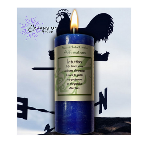 Candle Affirmation Intuition