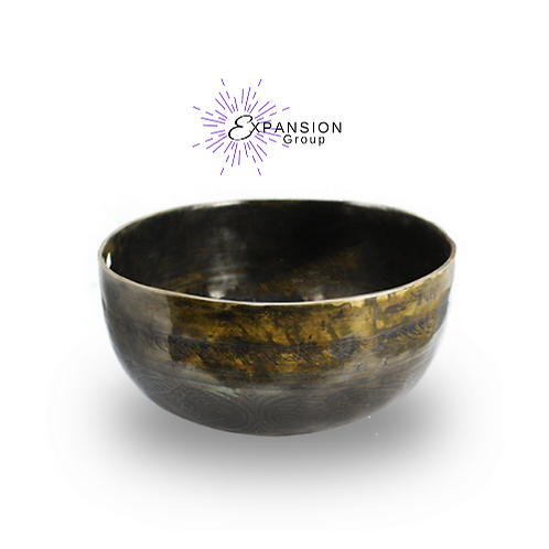 "Hand Carved Tibetan Singing Bowl 7"""