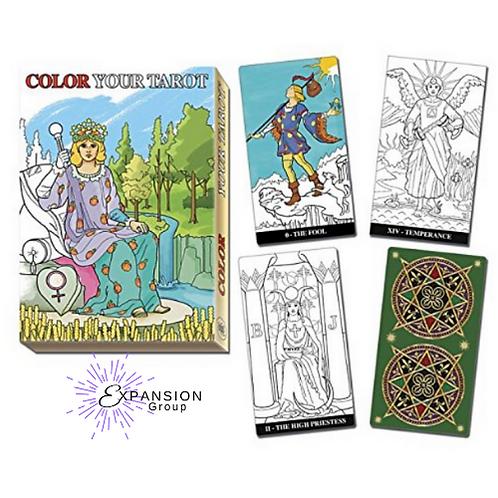 Color Your Tarot Deck - Major Arcana