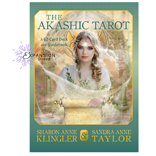 The Akashic Tarot Oracle Deck - 62 Cards