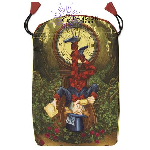 Wonderland Tarot Satin Deck Bag