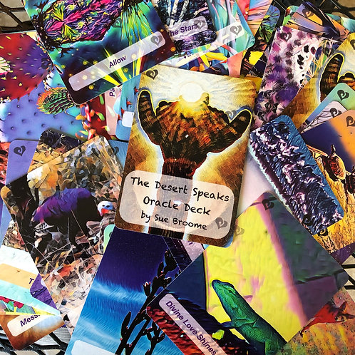 The Desert Speaks Oracle Deck - 44 Cards