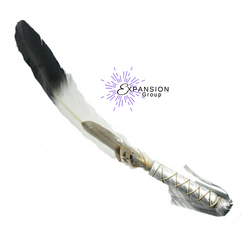Imitation Eagle Smudge Feather, Pigeon and Partridge