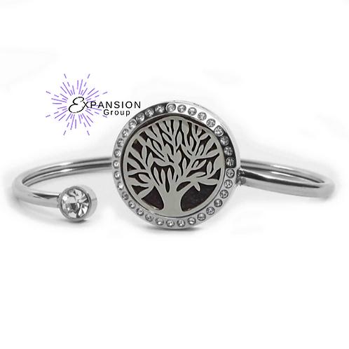 Crystal Tree Aromatherapy Bracelet