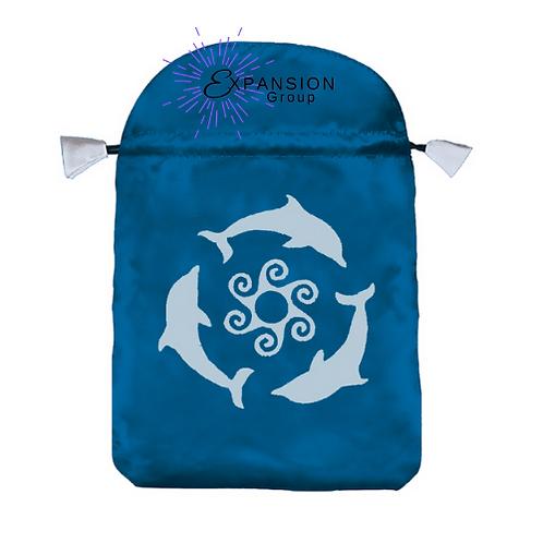 Dolphins Satin Deck Bag