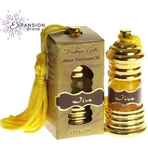 Attar Oil Jiva for Vitality - 3 ml
