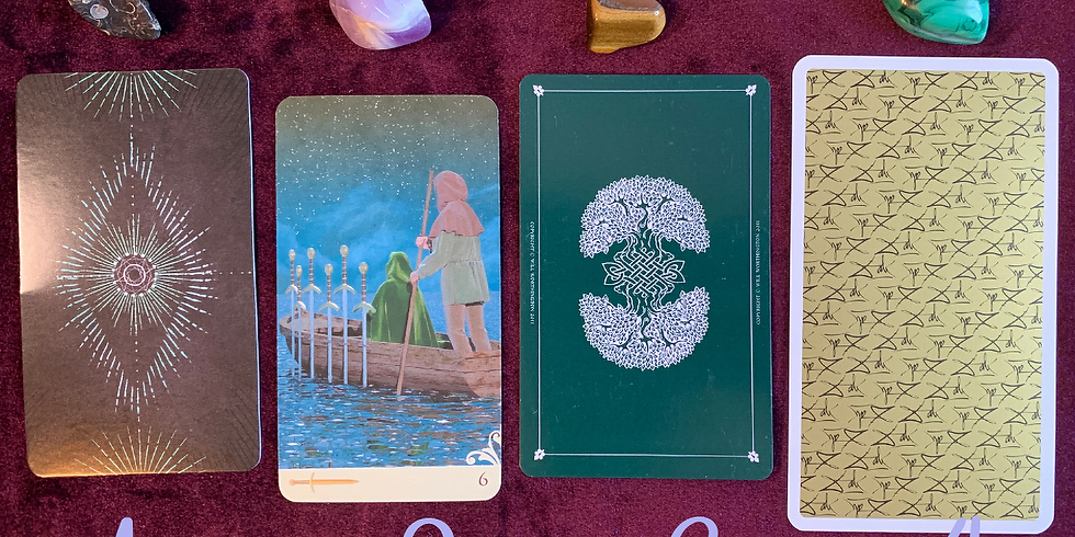 Weekly Card Pull for September 9th - Tarot Week