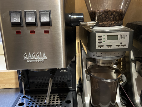 Test de la Machine expresso New Gaggia Classic