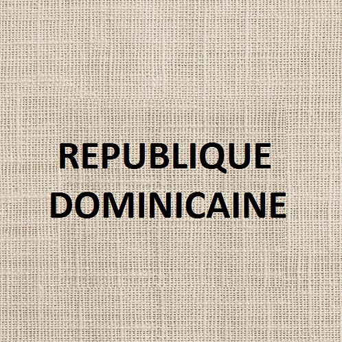 République dominicaine Ebano Verde 250g