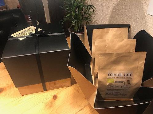 Coffret Dégustation de café Bio