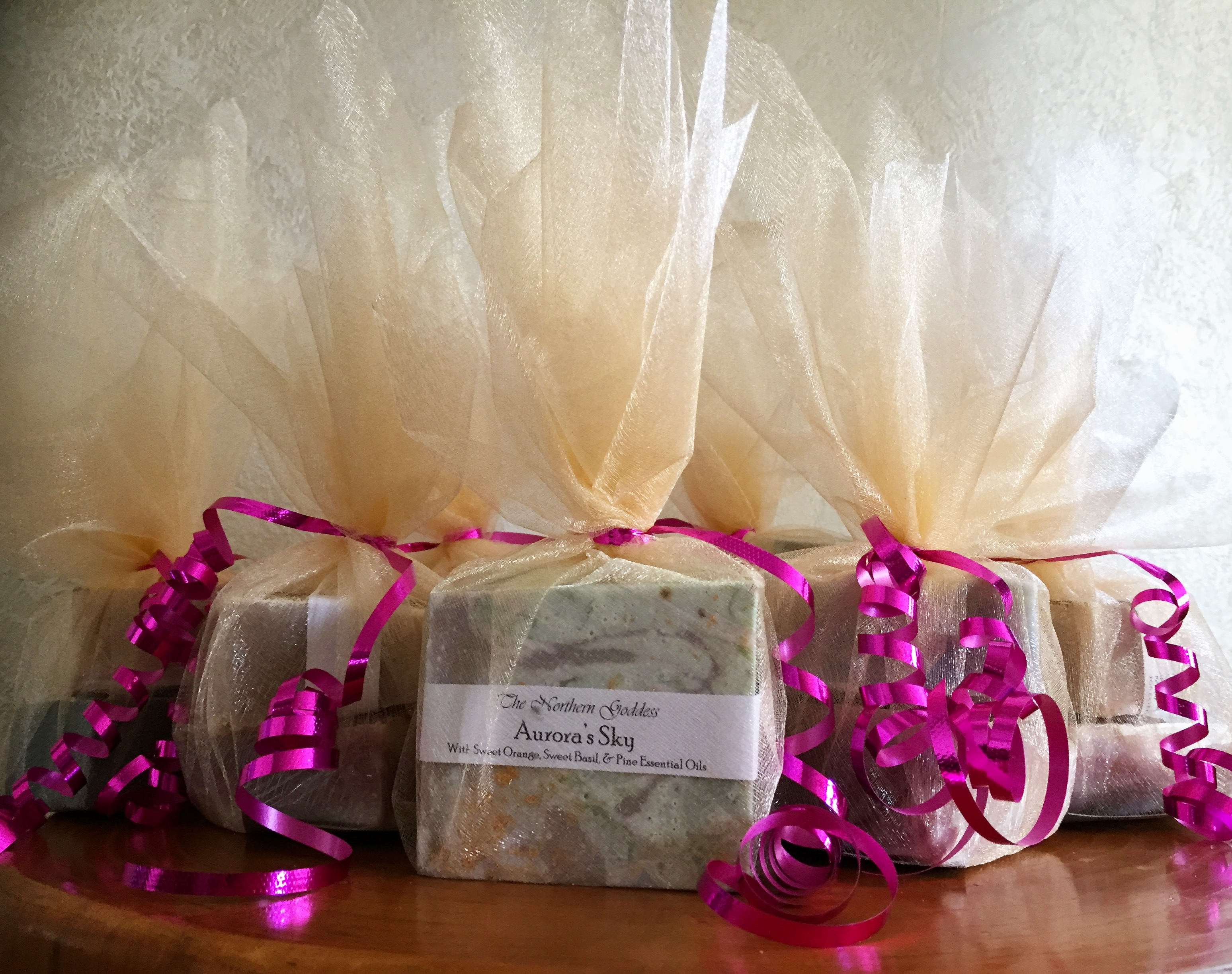 Shower Soap Favours