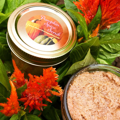 Pumpkin Spice face & body scrub