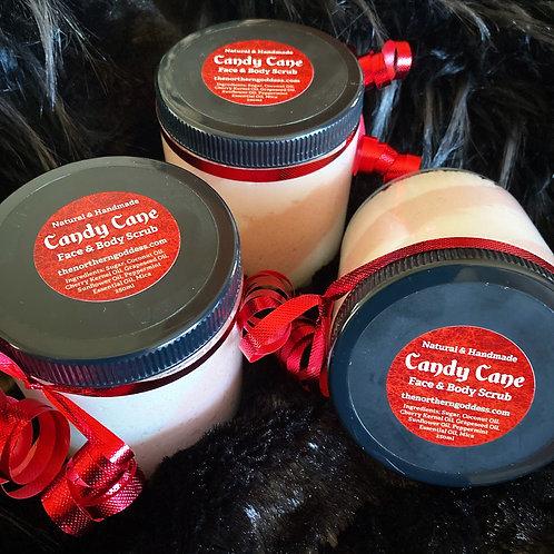 Candy Cane Scrub