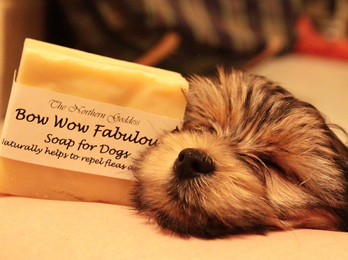 Bow Wow Fabulous, Natural Dog Soap