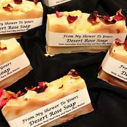 Mini Desert Rose Soaps