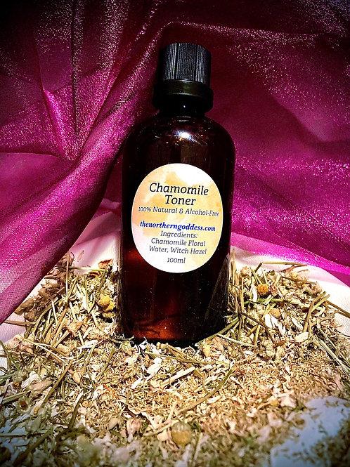 Chamomile Toner (alcohol free!)