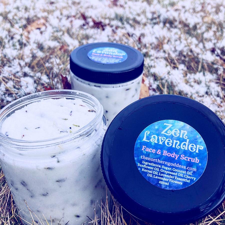Zen Lavender Scrub
