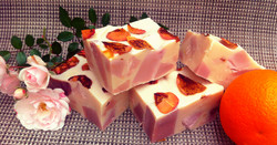 Sweet Orange Rose wedding soap