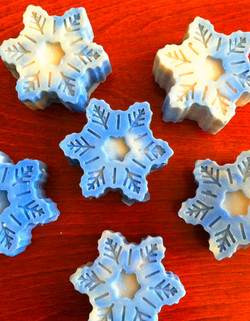 Snowflake Winter Party Favours