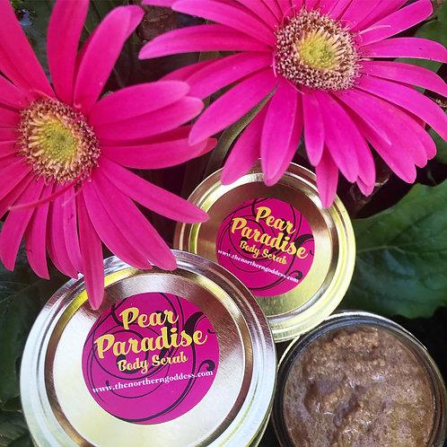 Pear Paradise, a Brown Sugar Body Scrub