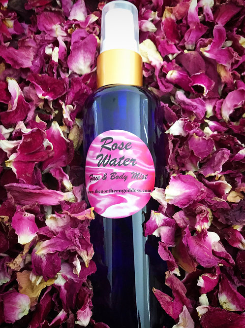 Rose Water face & body mist