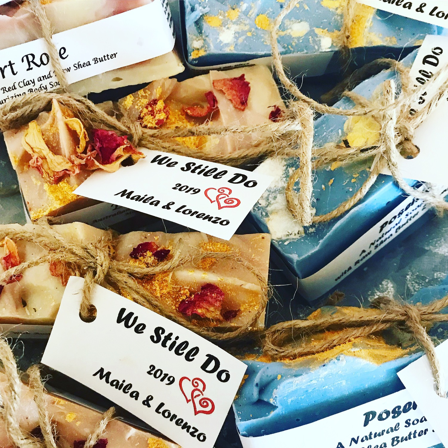We Still Do (custom his & her party soap