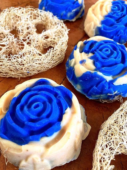 Blue Belle (loofah soap)