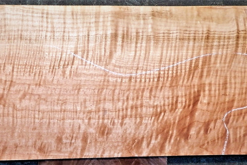 Figured Curly Tiger Maple #5146 Instrument Wood Billet
