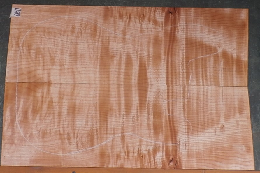 Flame Curly Maple #6841