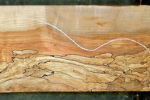 Spalted Curly Maple 6540