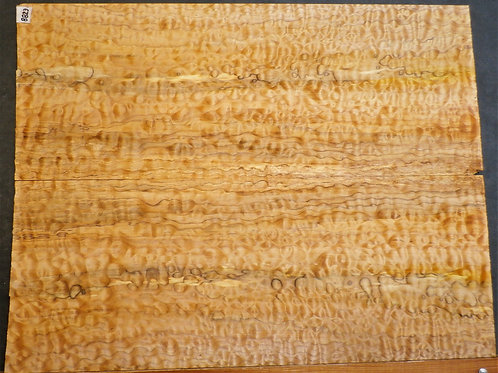 Quilted Maple Spalted Guitar Top 8823
