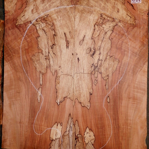 Ambrosia Spalted Maple Lumber 5013