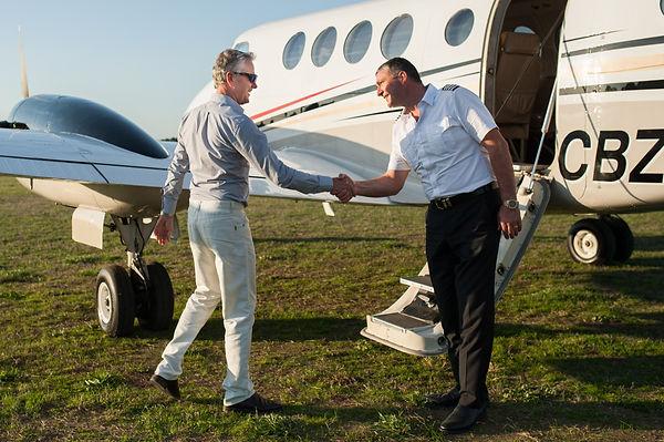 Passenger Charter Flight Adelaide