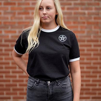 Pentagram Ringer T-shirt