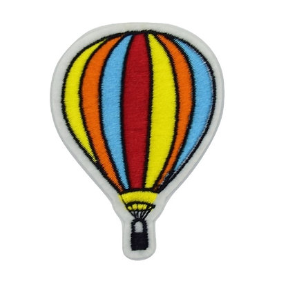 Hot Air Balloon Iron on Patch