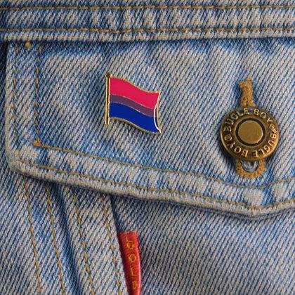 Bisexual Pride Flag Enamel Pin