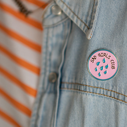 Sad Girls Club Pin Badge