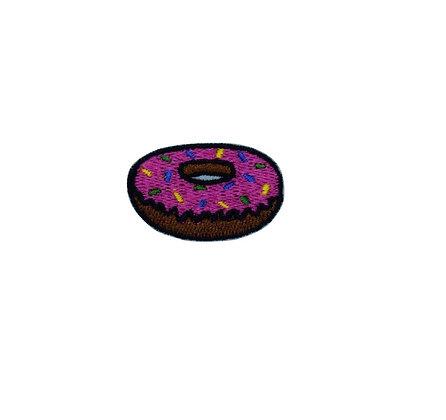 Mini Donut Iron on Patch
