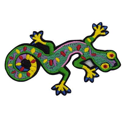 Lizard Iron on Patch