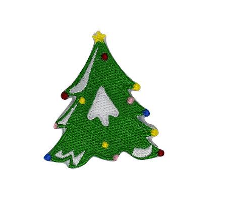 Christmas Tree Iron on Patch