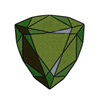 Emerald Jewel Iron on Patch